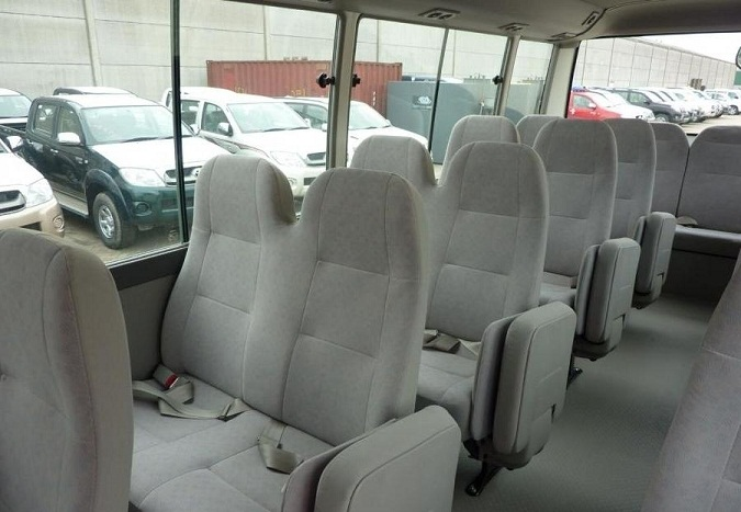 22 Seater Toyota Coaster - Excellence Car Hire