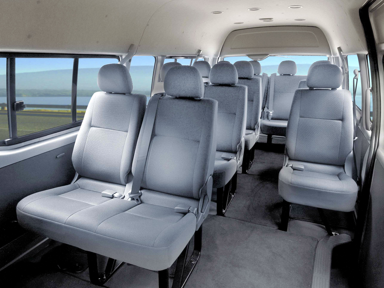 13 Seater Toyota Quantum Excellence Car Hire